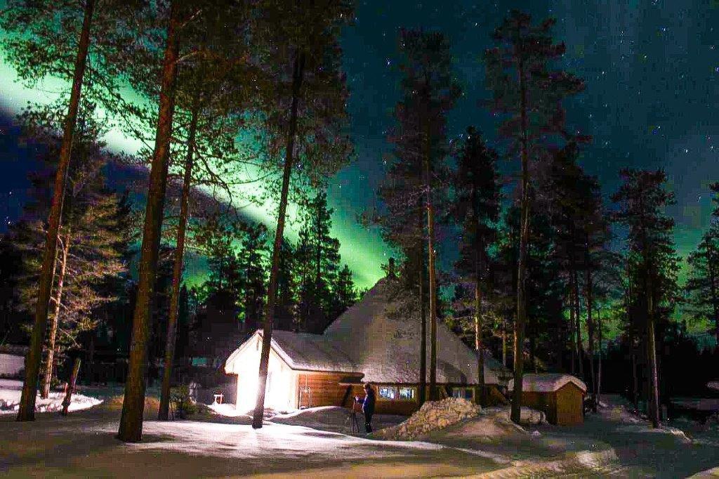 Nordlicht Lappland