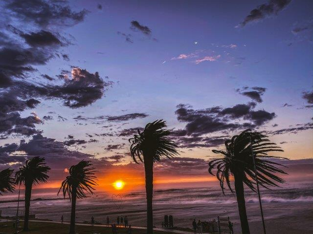 Sonnenuntergang Camps Bay Beach